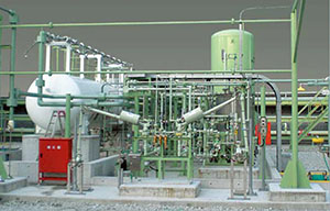 Heat exchanger unit (Air Fin Cooler) for binary plant at hot spring
